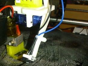 Bed auto level servo mount + z-probe