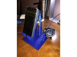 Samsung Galaxy s8 with Samsung s3 Watch Charger