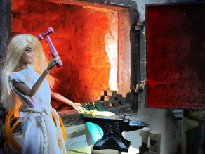 Barbie-Compatible Forge Hammer