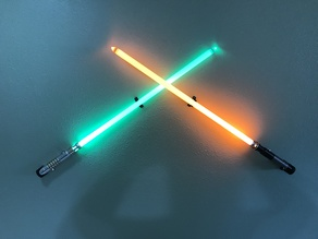 Lightsaber Cross Mount