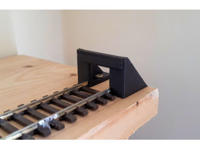 OO Gauge Simple Buffer Stop