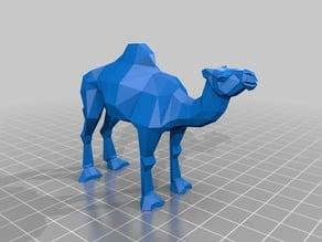 Camel low poly