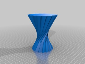My second vase, made in SketchUp.