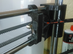 X End Stop holder for Prusa i3 with rework X carriage