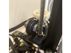 Ender 3 Ball Bearing Filament Guide