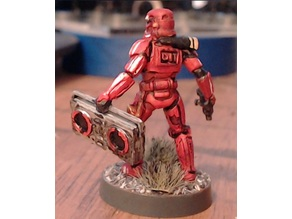 Hiphop Trooper Boombox and Chain for Star Wars Legion