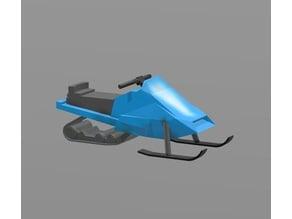 Snowmobile H0 scale remix