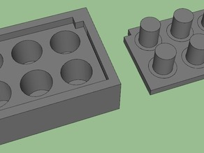 mold for shotglasses