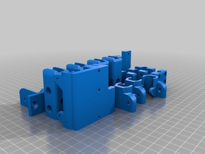 Prusa i3 Parts for printing in Makerbot