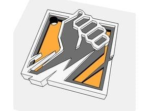 Finka - Keychain (Rainbow Six Siege) based on first leakes
