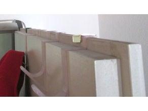 hallway side rabbeted door hook