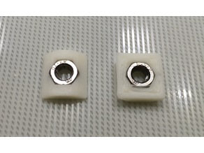 M5 nut adapter for Base20 Aluminum Profile (Non-EU Standard)