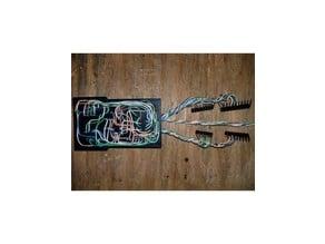 DIY Electronics Perf Board - 3DP Concept