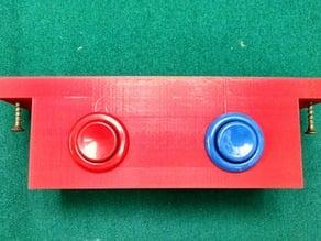 Shuffleboard - Score Button Mount