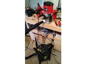 Vacuum <-> router adapter