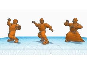 Heroscape Proxies: Shaolin Monks