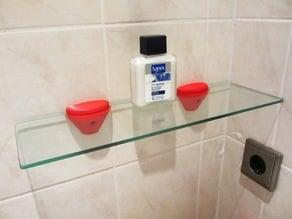 Shower shelf support
