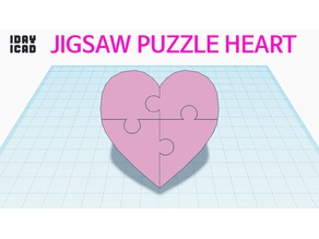 [1DAY_1CAD] JIGSAW PUZZLE HEART