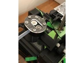 Tevo Tornado Palette + scroll wheel bracket