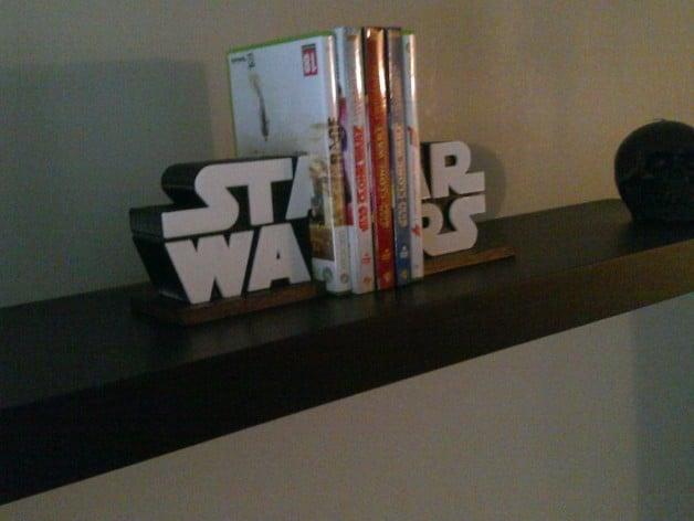 Presse livres star wars by aktarus54 thingiverse - Serre livre star wars ...