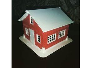 The led tealight house