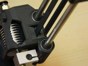 Monoprice Select Mini GT2 Carriage for E3Dv6 Style Nozzle