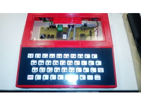 ZX-97 house and keyboard