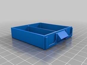 Stackable Resistor Storage Box - Half & Quarter drawers