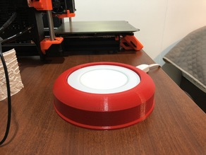 Base lamp for lithophanes