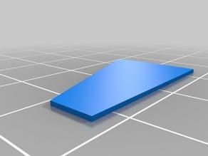 A Vortex Generator for the Flite Test 3D scratch-build plane