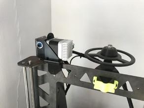 P3Steel E3D Titan extruder bowden mount