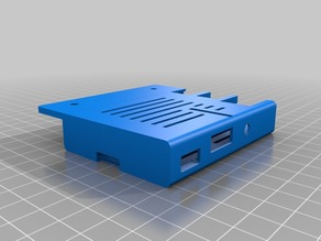 Raspberry PI 3B Case with camslot