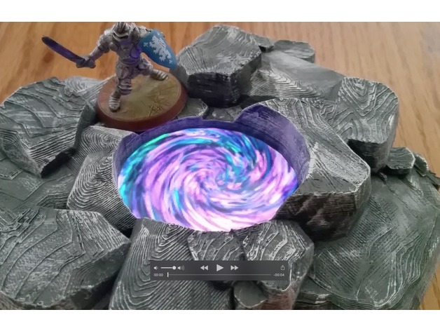 Magical Energy Pool for 28mm gaming (Uses an iPhone5) by