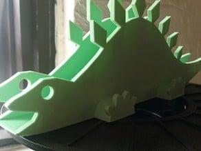 Customizable Stegosaurus Napkin Holder