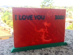 I love you 3000 - Tribute to IronMan