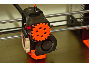 Gear extruder rotation indicator