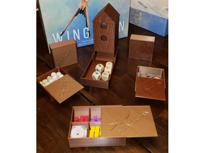 Wingspan Dicetower and Boxes