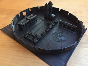Minecraft village to print or play