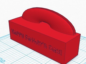 Happy Father's Day Photo Holder