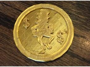 Leprechaun Gold Coin