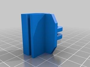 anycubic i3 mega fan back mount clip