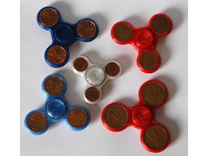 yacs three arm compact coin spinner