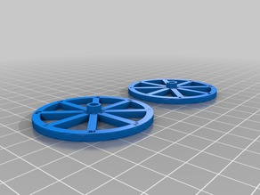 2 Wagon Wheels