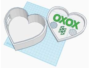 Holo-day St. Valentines Day Heart-Shaped Box