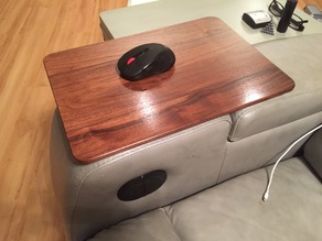 Theater chair swivel table
