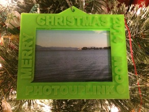 PhotoUpLink.com 2014 Christmas Picture Frame