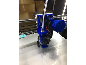 Anet A8 e3D V6 Bowden Titan extruder without change position