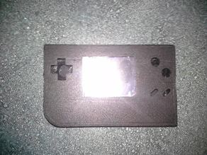 Raspberry Pi Game Boy Horizontal Layout for Model B+ and Model A+