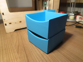 Stackable Storage Box for Bits and Bobs