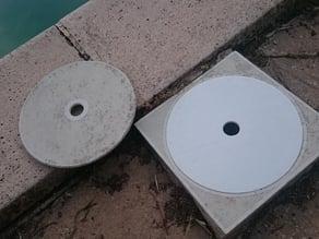 Pool Skimmer cover (dia. 21cm)